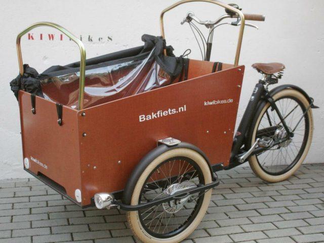 Cargo Trike CRUISER - WIDE von Bakfiets
