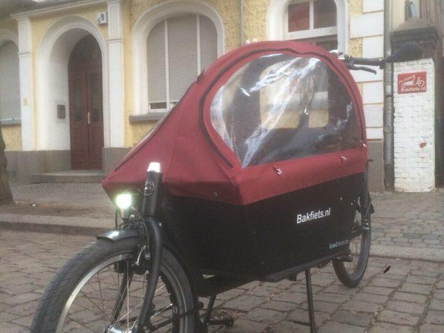 BAKFIETS.NL Cargo Bike Classic Long STEPS